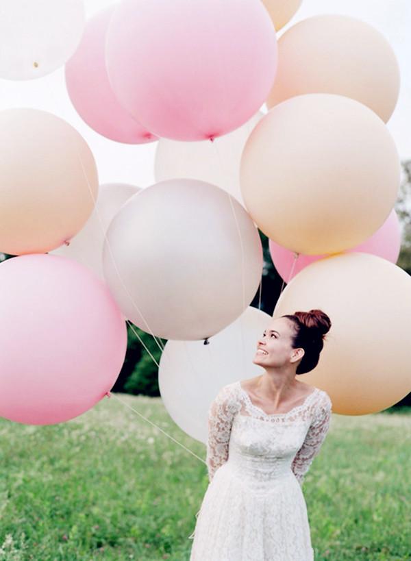 海外brideのアイデアウェディング ラウンドバルーン