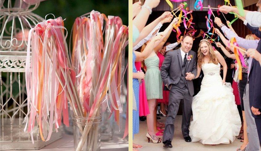 リボンワンズ結婚式DIY
