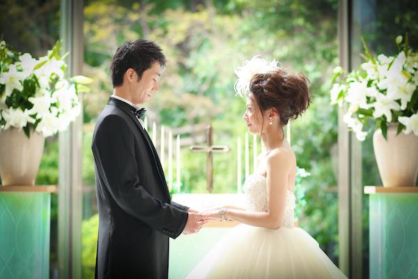 服部由紀子へアメイク×ウェディングソムリエ