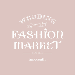 Wedding Fashion Market~my favorite things