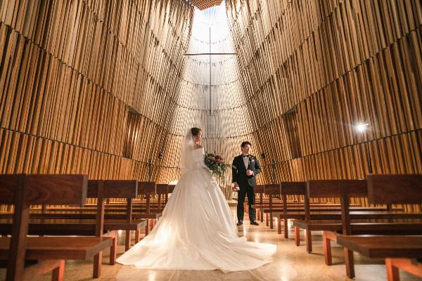 ウェディングソムリエ ホテル婚 ウェディングドレス